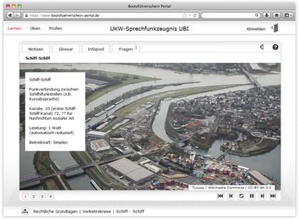 Onlinekurs UBI - UKW-Sprechfunkzeugnis - 8 Wochen Zugang