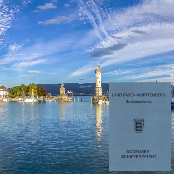 Paket - Bodenseeschifferpatent für Inhaber SBF Binnen oder SBF See
