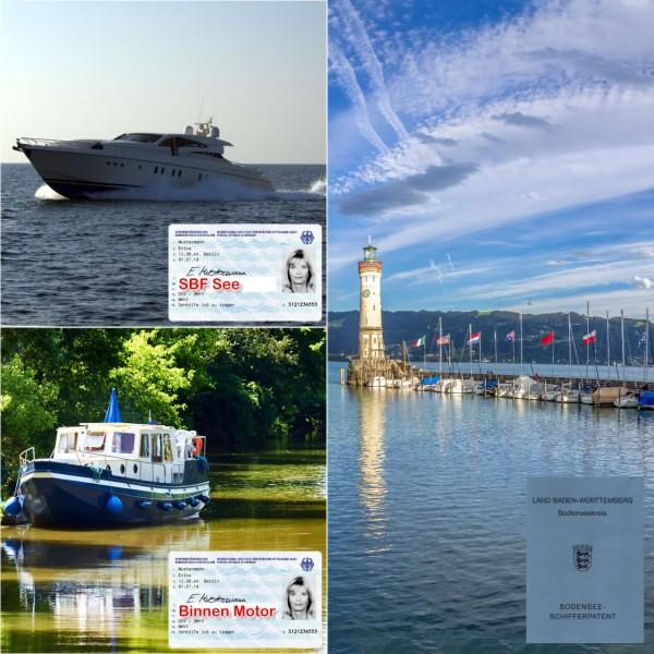 Kombination - Motorboot-Knüller Binnen / See / Bodensee